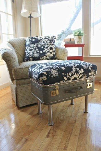 Upcycled-Vintage-Suitcase-Ottoman
